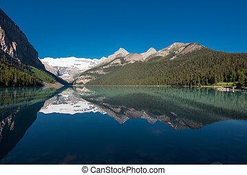 Morning Reflections at Lake Louise