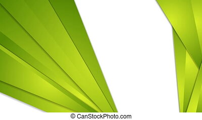 Abstract green tech corporate video animation - Abstract...