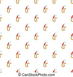 Fire hose pattern, cartoon style - Fire hose pattern....