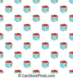 Fryer pattern, cartoon style - Fryer pattern. Cartoon...