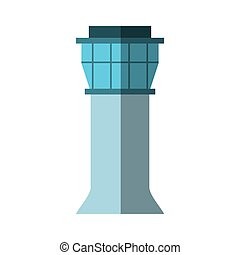 Control tower Vector Clipart EPS Images. 795 Control tower clip ...