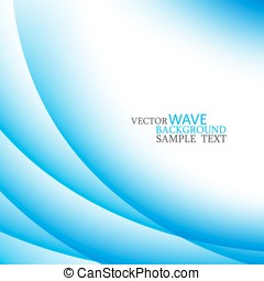 abstract colorful stylish blue circle wave
