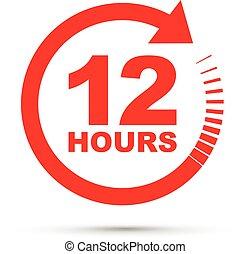 twelve hour icon