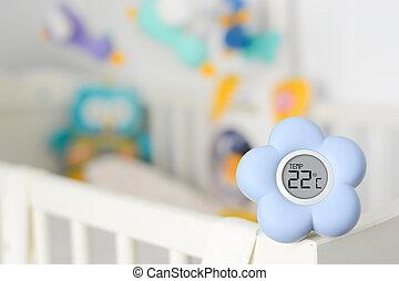 Baby room temperature monitor