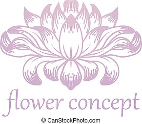 Flower Floral Abstract Concept Icon