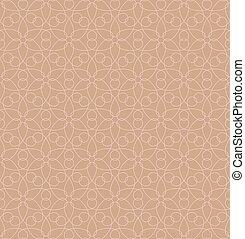 Neutral Seamless Linear Geometric Pattern. - Neutral...