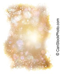 Abstract golden bokeh background. EPS 10 vector file