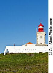 Lighthouse on the Coast of Ocean