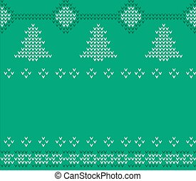 Knitted Christmas Sweater pattern