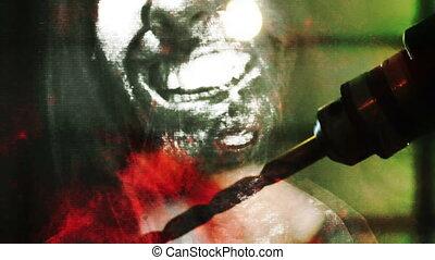 Terror Montage - Horror footage terror Montage