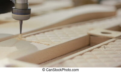 milling machines with numerical control software, wood,...