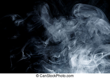 Abstract blue smoke Weipa - Abstract smoke Weipa. Personal...