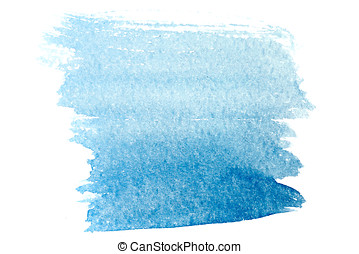 Watercolor background ultramarine - Ultramarine watercolor...