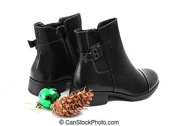 Alle svart støvler