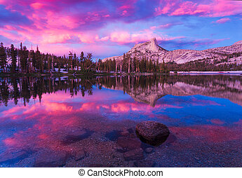 Cathedral Lakes in Yosemite