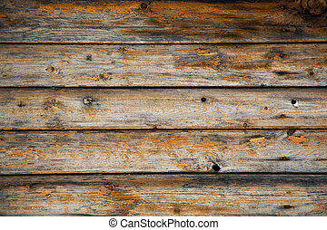 Wood brown. The texture of aged wood.