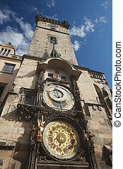 Town Hall Tower with the Horologe, the medieval astronomic...