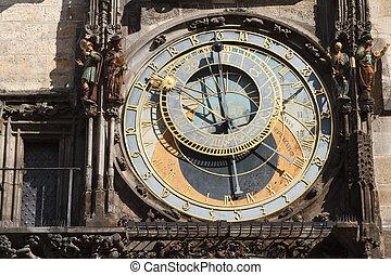 Astronomical clock on Town hall, Prague