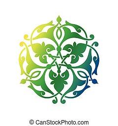Arabic oriental ornament