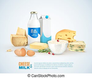 Milk Products Template