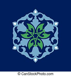 Ottoman decorative pattern - Inspired by the Ottoman...