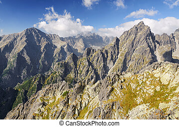 High Tatras mountains, Slovakia - High Tatras mountains in...