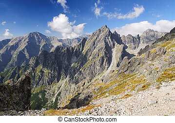 High Tatras mountains, Slovakia - Beautiful landscape at...