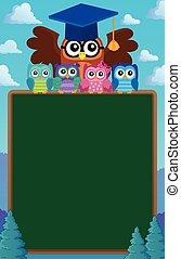 Owl teacher and owlets theme image 7 - Owl teacher and...