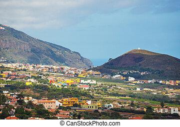 La Orotava town, Tenerife Island, Spain