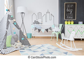 Scandinavian inspirations for a little adventurer's room -...