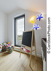 Perfect room for child - Interior of perfect modern room for...