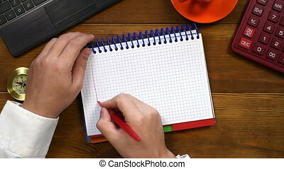 Hands Drawing Graph