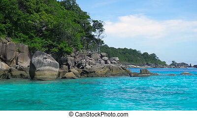 Similan Islands landscape - Koh Miang Similan Island...