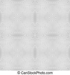 optical art abstract seamless pattern - vector monochrome...