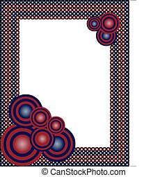 abstract frame  - vector illustration of an abstract frame