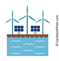 Solar panel and wind mill design