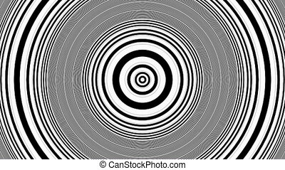 Hypnotic Rhythmic Movement Animation