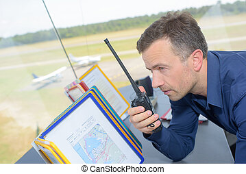 giving airspace order