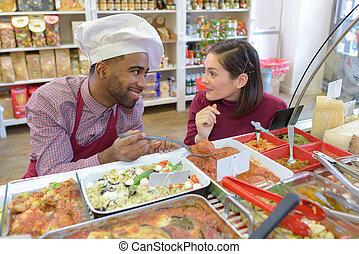prepared food representative