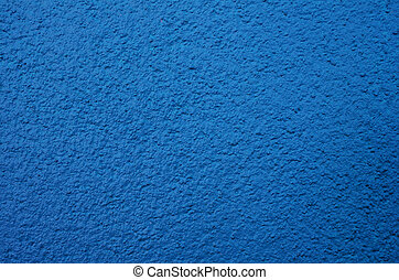 Blue Cement Wall