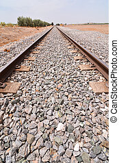 Train Rail Road - Photo Picture of a Classic Train Rail Road