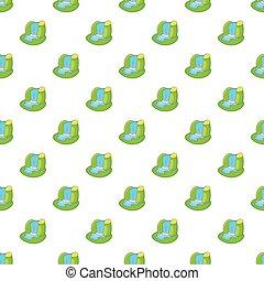 Waterfall pattern, cartoon style - Waterfall pattern....
