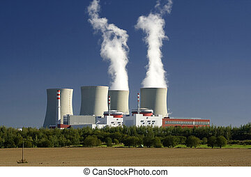nuclear power plant - view to nuclear power plant