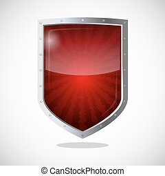 Protection armor shield concept. Security guardianship...
