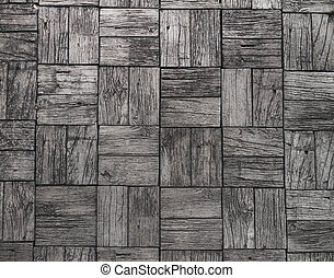 gray background and railroad ties texture, wood floor