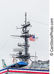 American Flag on Midway - Decks and details on the aircraft...