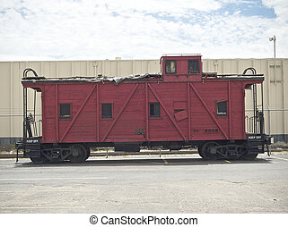 A vintage caboose is now an attraction at the museum