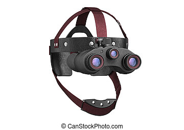 Night vision tactical goggles