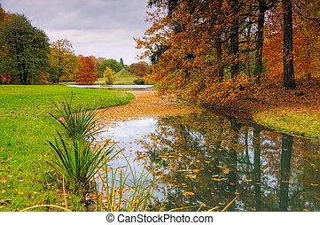Branitz Park in Lusatia, Germany