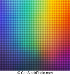 Colorful Square Rainbow Abstract Background. Universal...